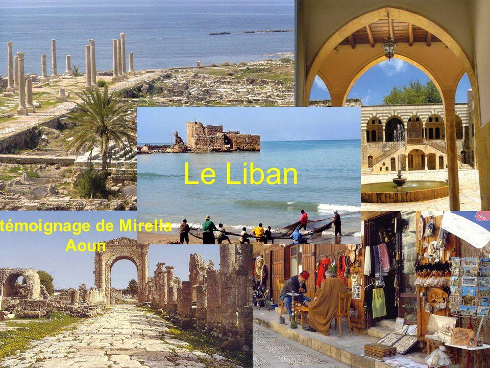 Le Liban témoignage de Mirella Aoun
