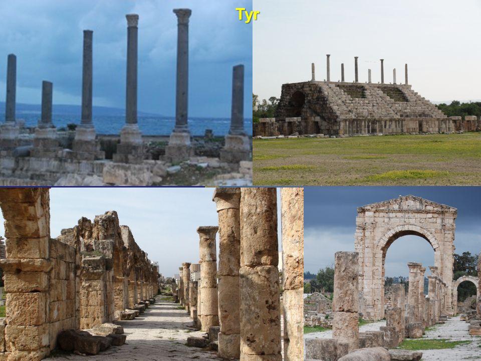 Elle sera dans la mer un lieu où on étendra les filets (Ézechiel 26:5) Jésus, étant parti de là, s en alla dans le territoire de Tyr et de Sidon.