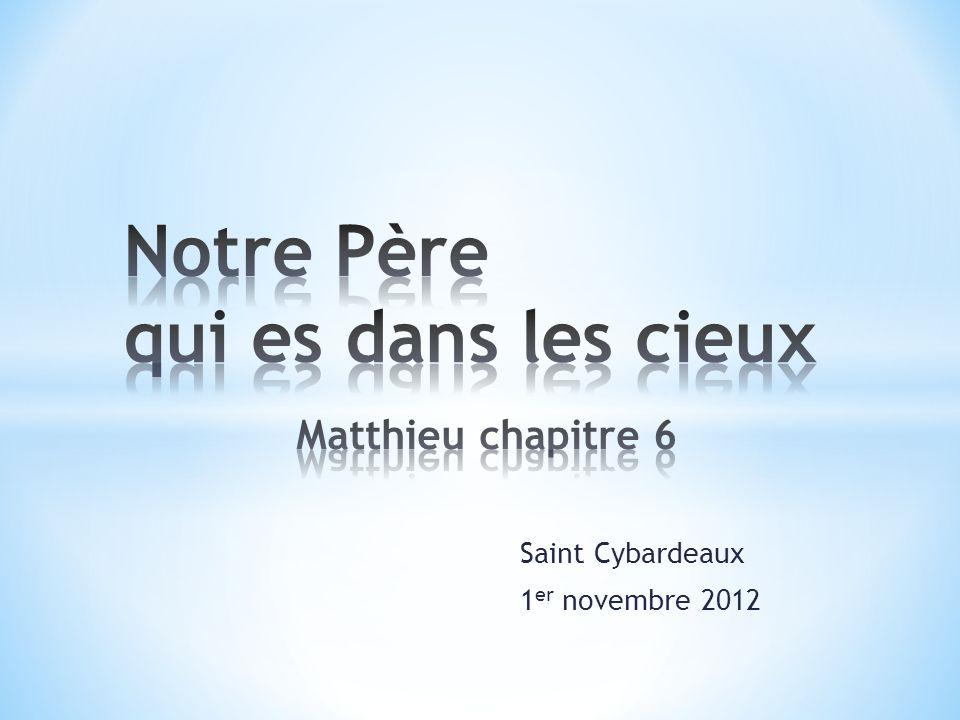 Saint Cybardeaux 1 er novembre 2012