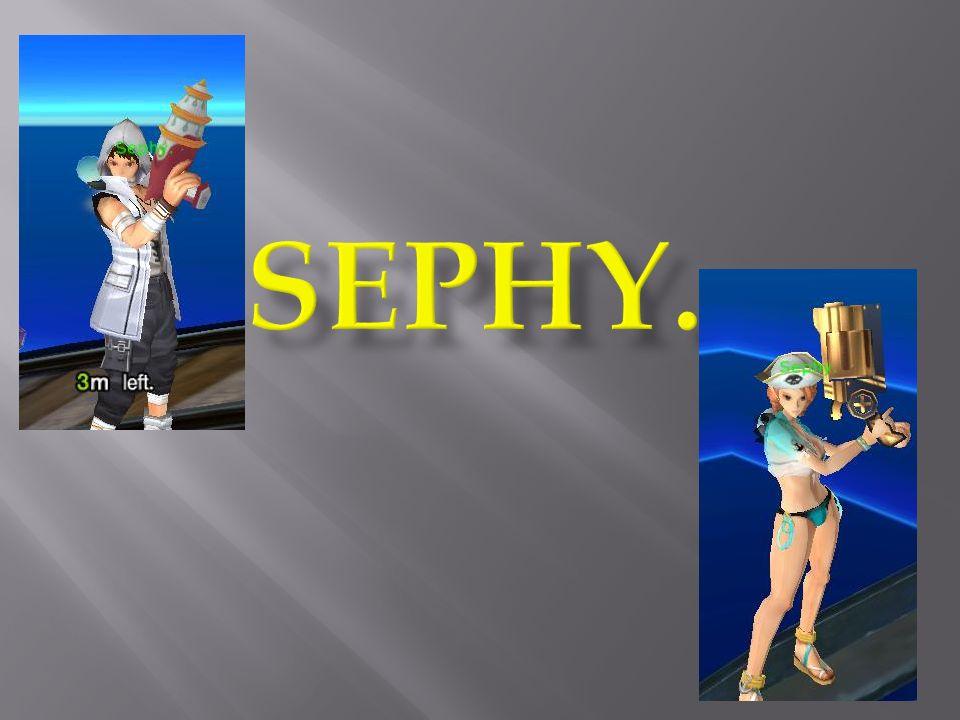 Je voudrais remercier Sephy.pour le temps quil ma accordé.