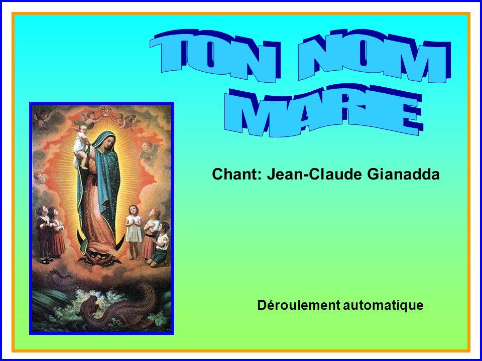 .. Chant: Jean-Claude Gianadda Déroulement automatique