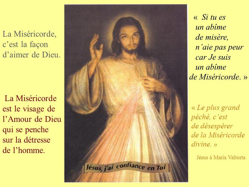 « Le plus grand péché, cest de désespérer de la Miséricorde divine.