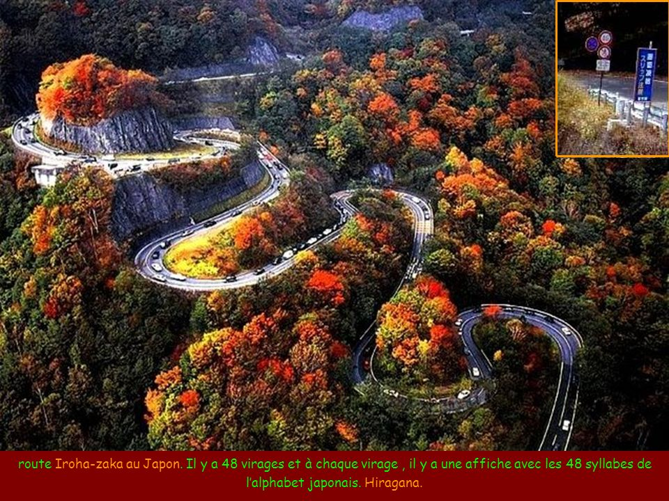 Les routes les plus incroyables du monde Músique: The Long and Winding Road par Ney Deluiz Chanté par Les Beatles Mettez le son Route dans les montagn