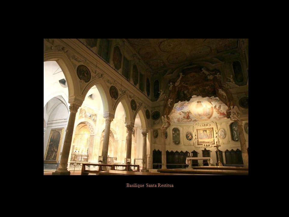 Basilique Santa Restitua