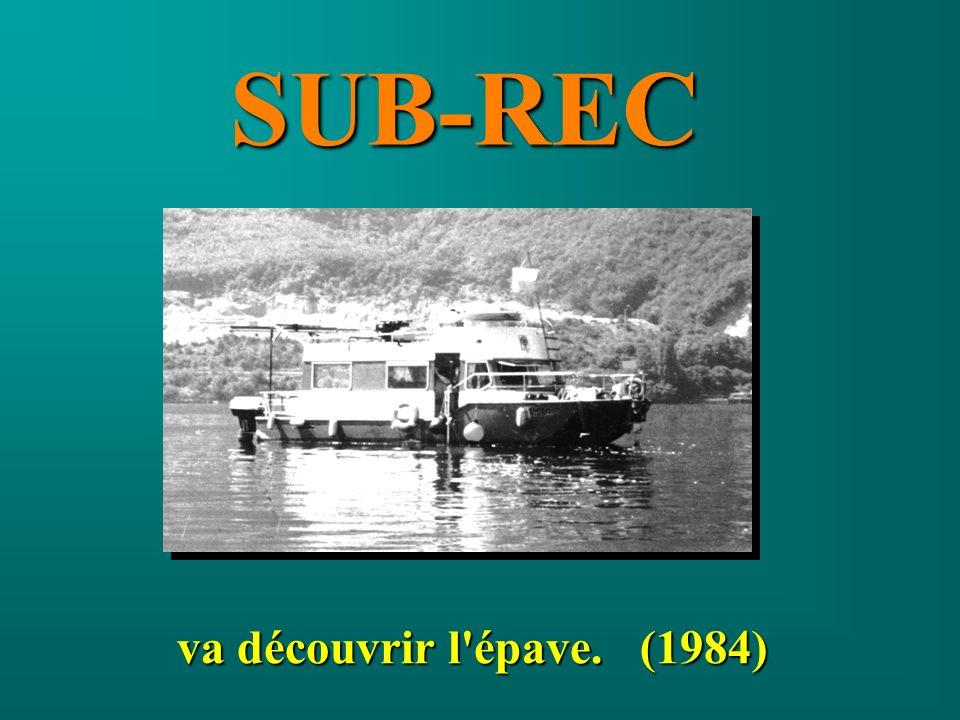 va découvrir l'épave. (1984) SUB-REC