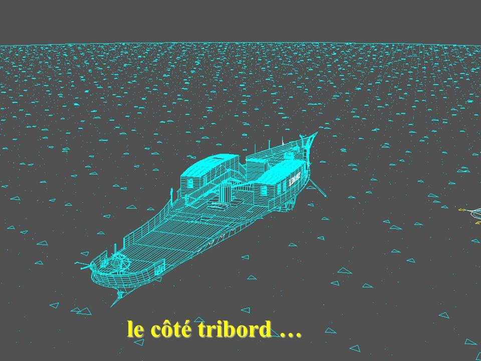 le côté tribord …
