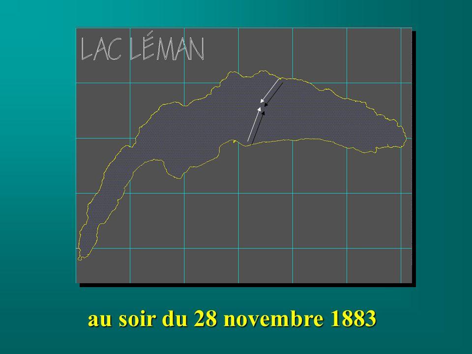 au soir du 28 novembre 1883