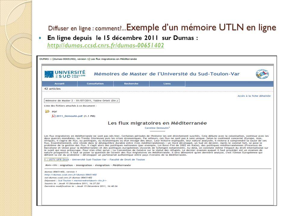 En ligne depuis le 15 décembre 2011 sur Dumas : http://dumas.ccsd.cnrs.fr/dumas-00651402 http://dumas.ccsd.cnrs.fr/dumas-00651402