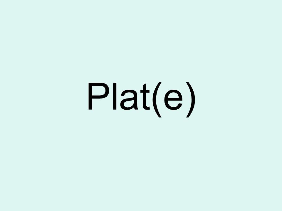 Plat(e)