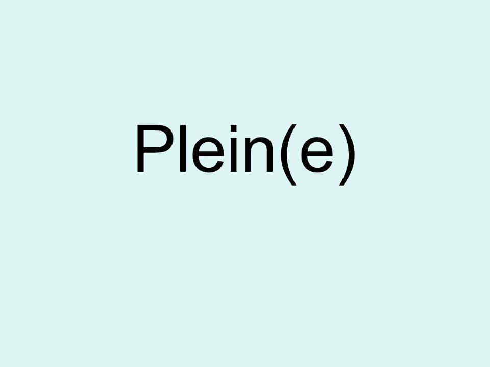 Plein(e)