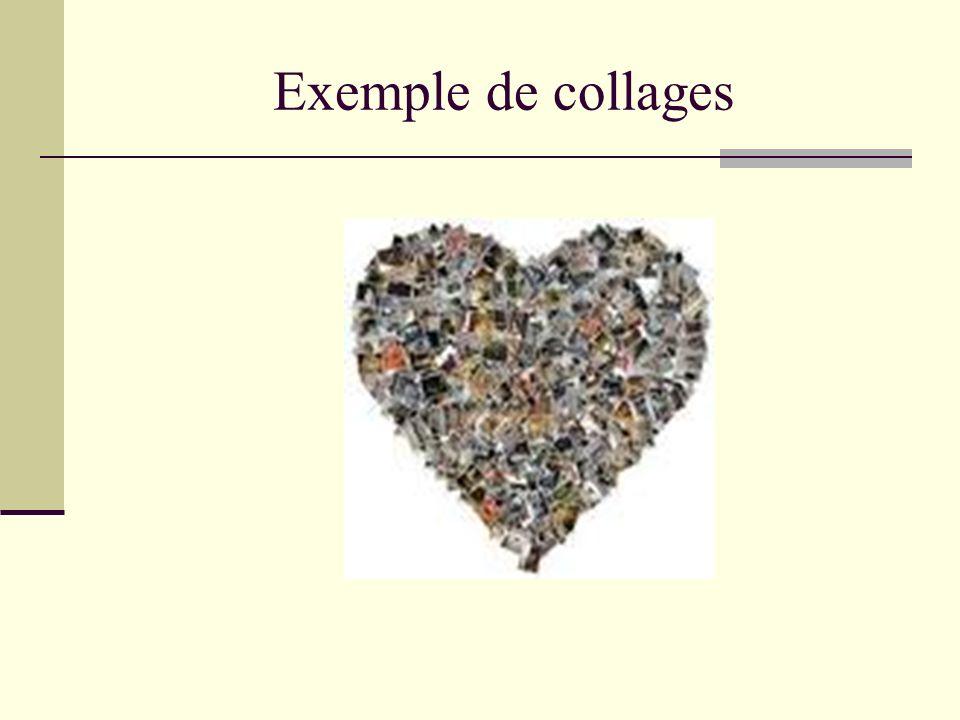Exemple de collages
