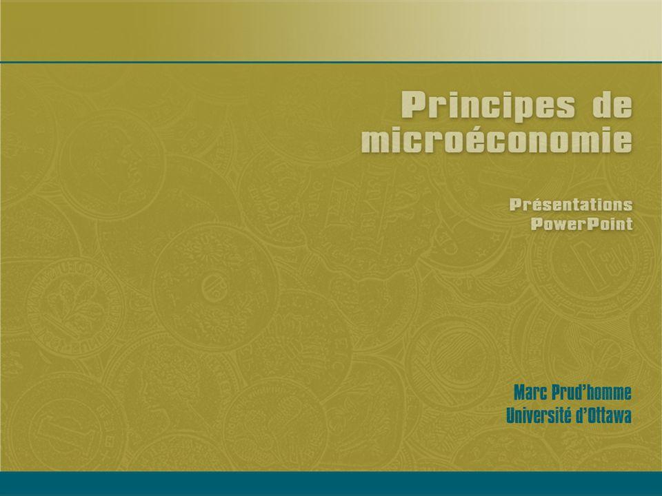 Principes de microéconomie.