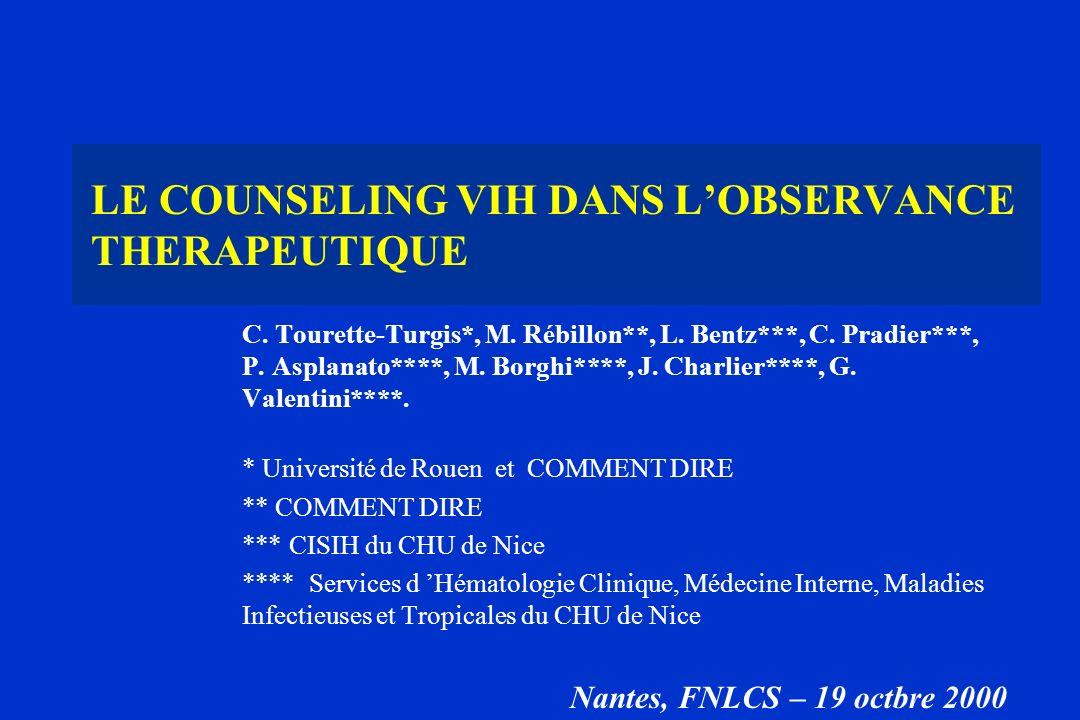 C. Tourette-Turgis*, M. Rébillon**, L. Bentz***, C. Pradier***, P. Asplanato****, M. Borghi****, J. Charlier****, G. Valentini****. * Université de Ro