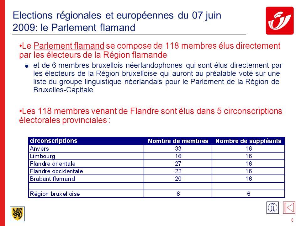 39 Elections européennes de juin 2004: le collège électoral français Votes valables: 2.434.693