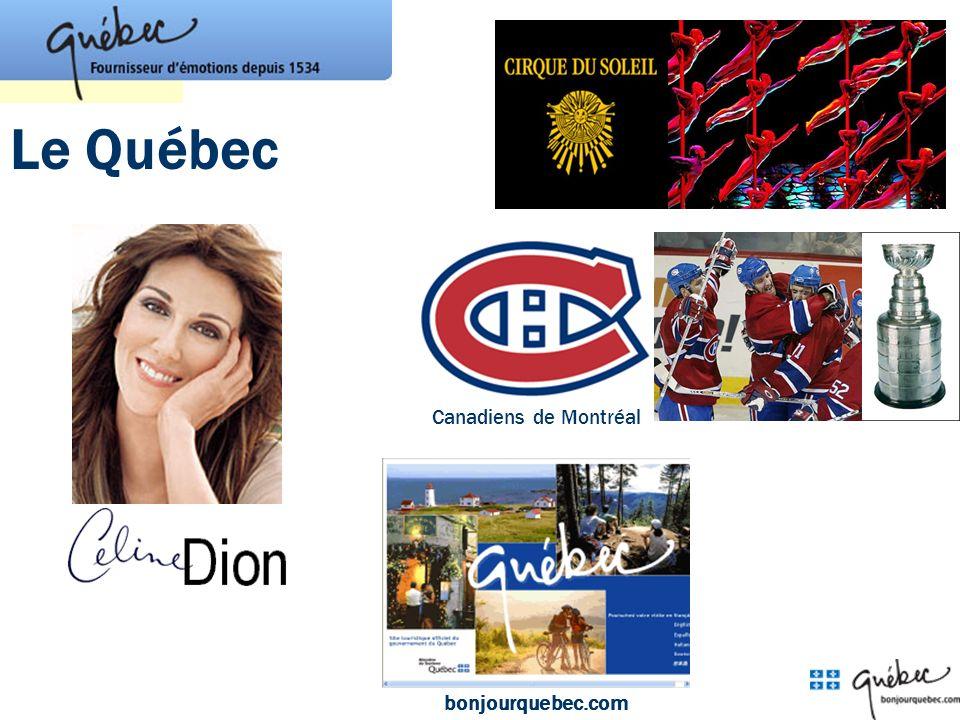 Le Québec bonjourquebec.com Canadiens de Montréal