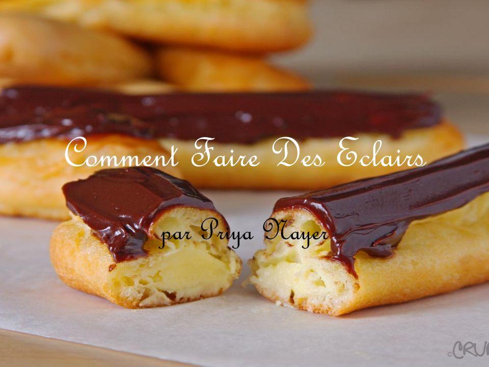 Le Vocabulaire Préchauffer – to preheat Le four – oven La pate – pastry dough La farine – flour Faire fondre – to melt La glaçage - icing