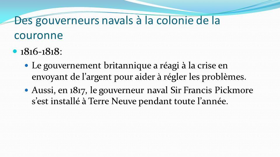 Le gouvernement responsable Cependant, en 1855, Terre-Neuve a obtenu un gouvernement responsable.