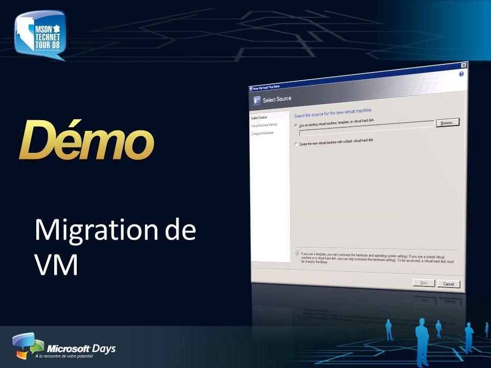 Migration de VM