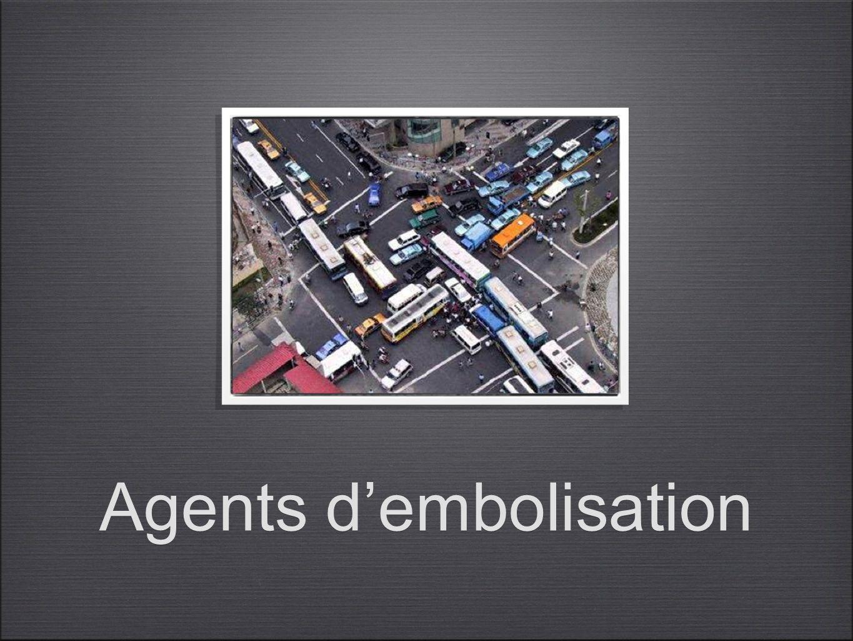Agents dembolisation