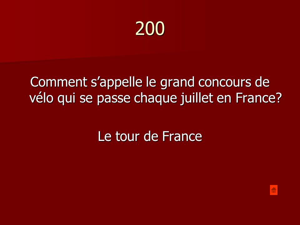 200 Comment sappelle lobjet qui montre la rotation de la terre à Paris? La Pendule de Foucault