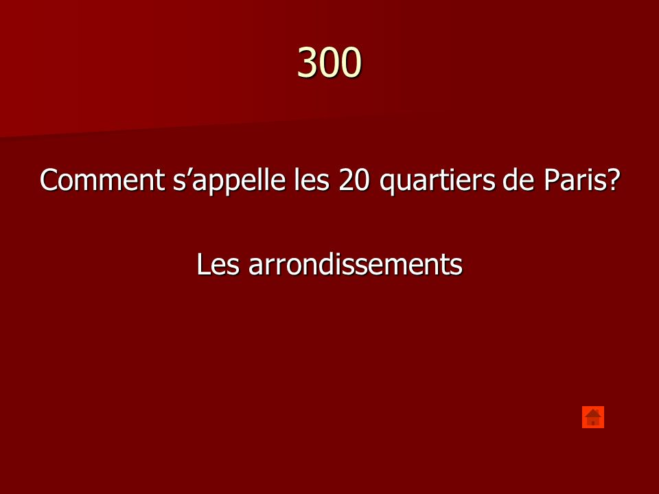 300 Comment sappelle les 20 quartiers de Paris Les arrondissements