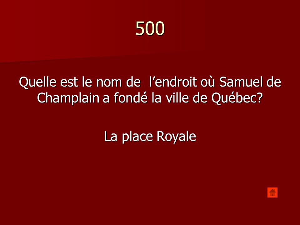 500 Comment sappelle la promenade qui offre une vue du Saint-Laurent dans la ville de Québec.