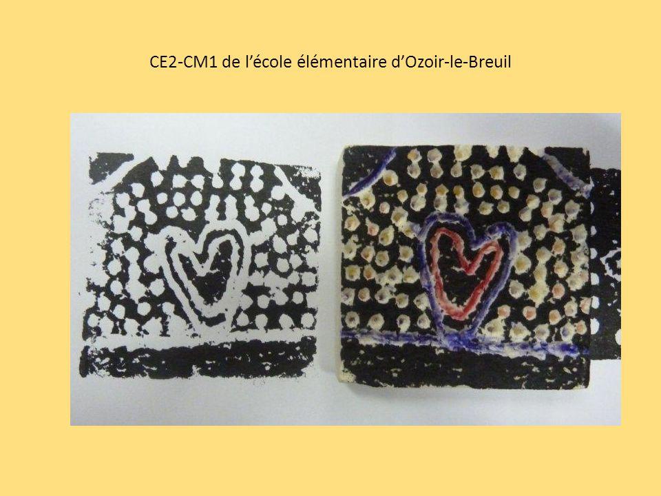 CE2-CM1 de lécole élémentaire dOzoir-le-Breuil
