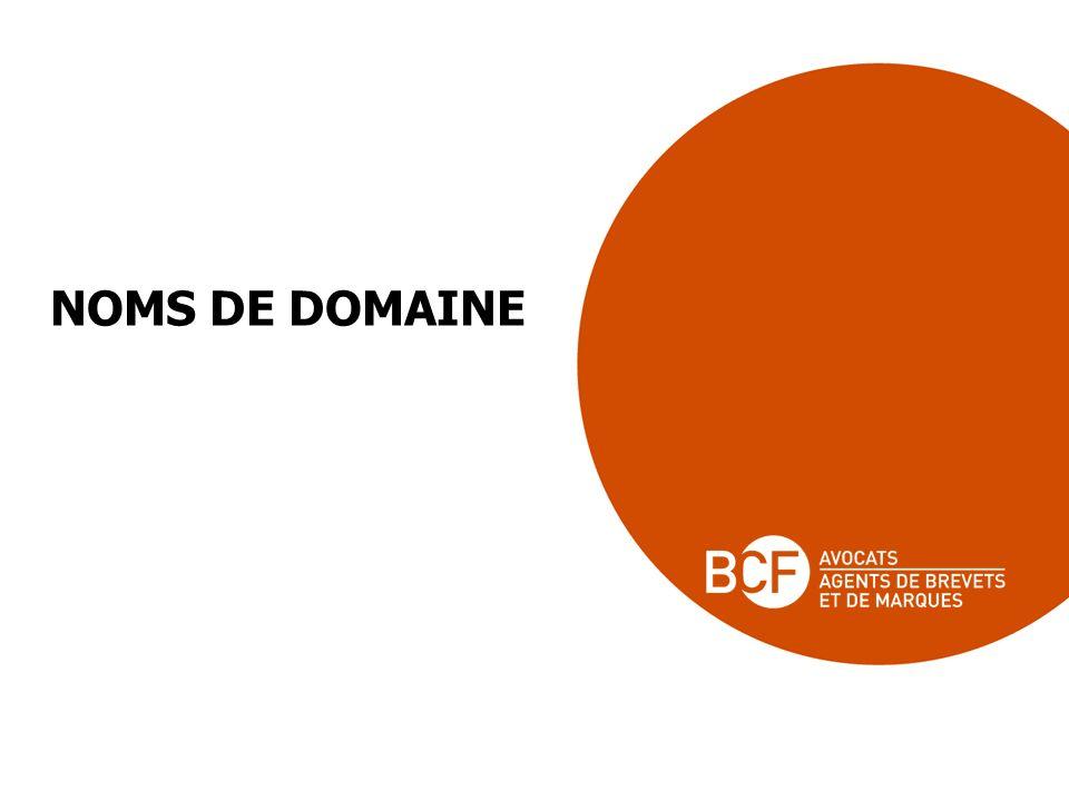 NOMS DE DOMAINE