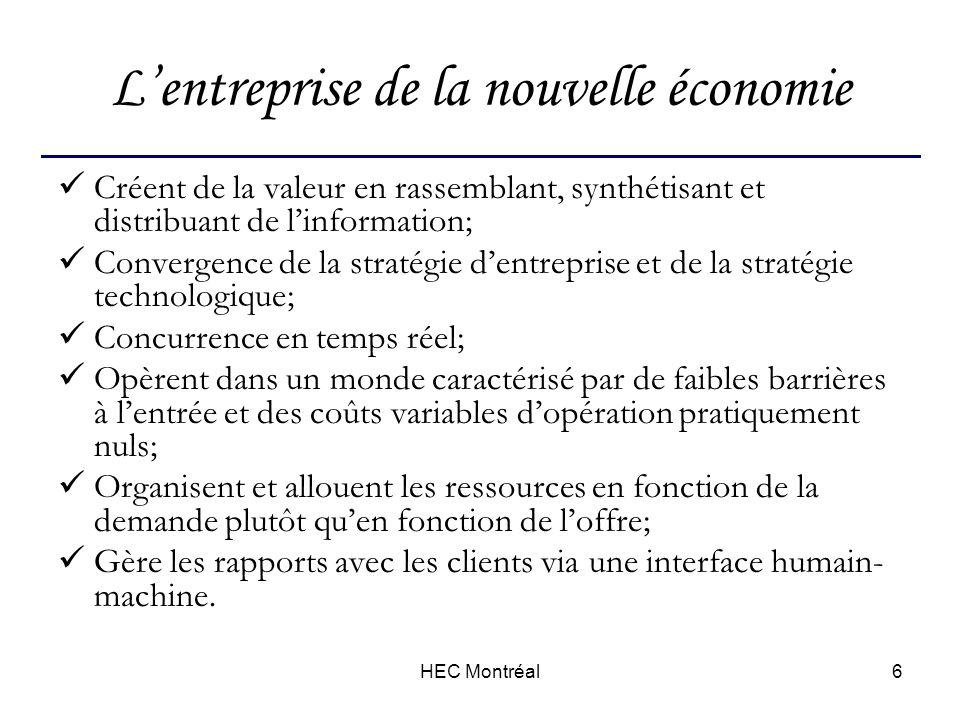 HEC Montréal17 Une chaîne unique
