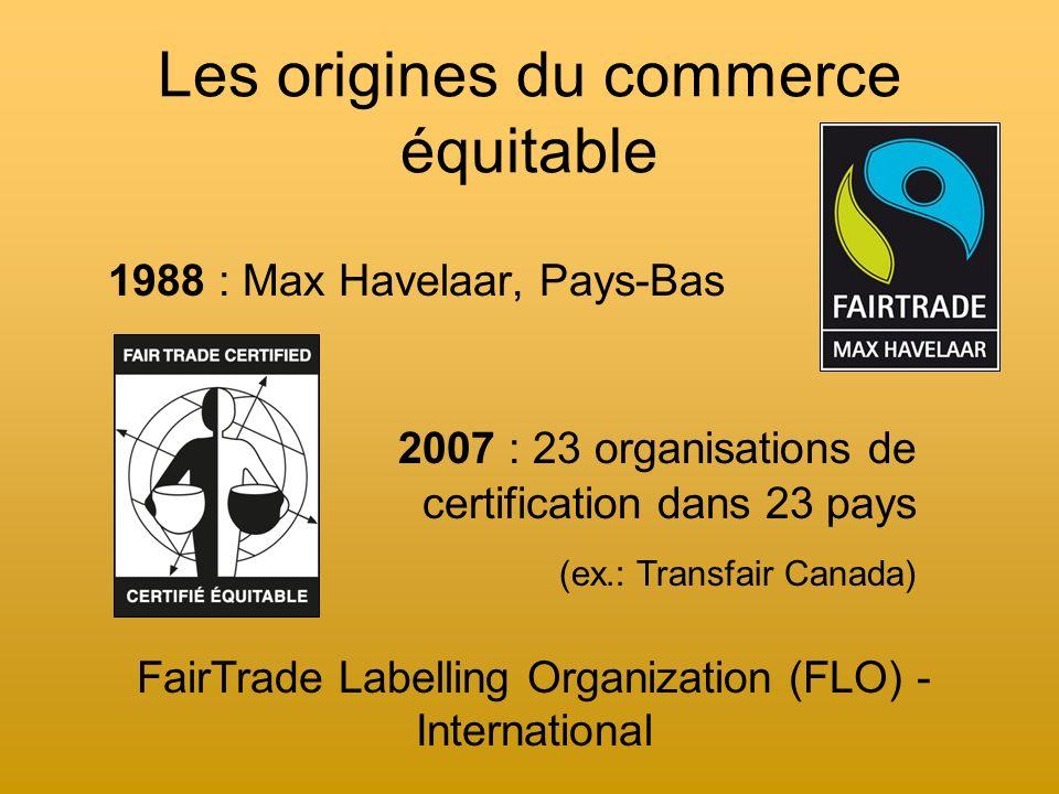 La certification « équitable » : 7 critères à respecter 1.