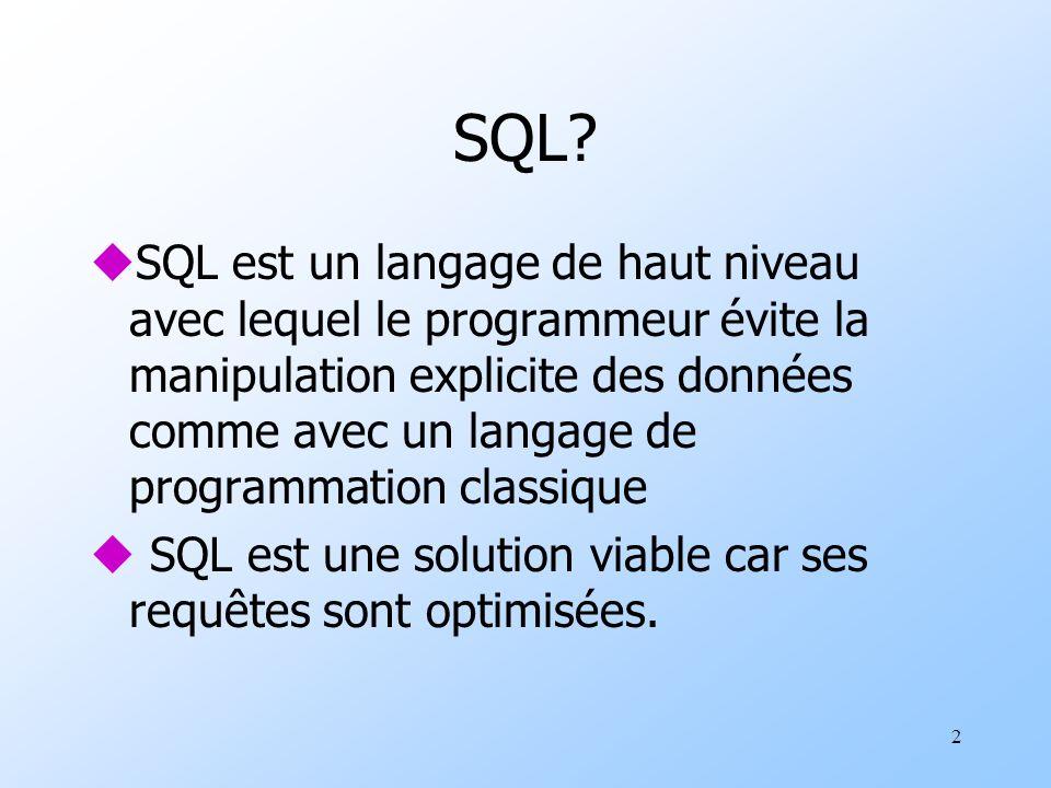 2 SQL.