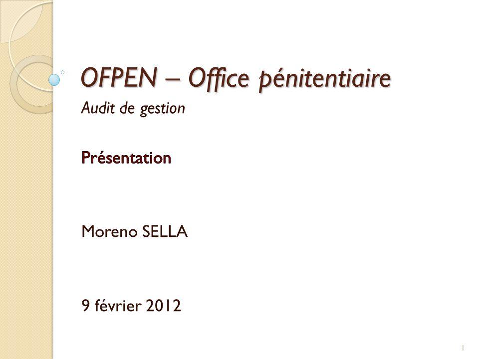 OFPEN – Office pénitentiaire 1