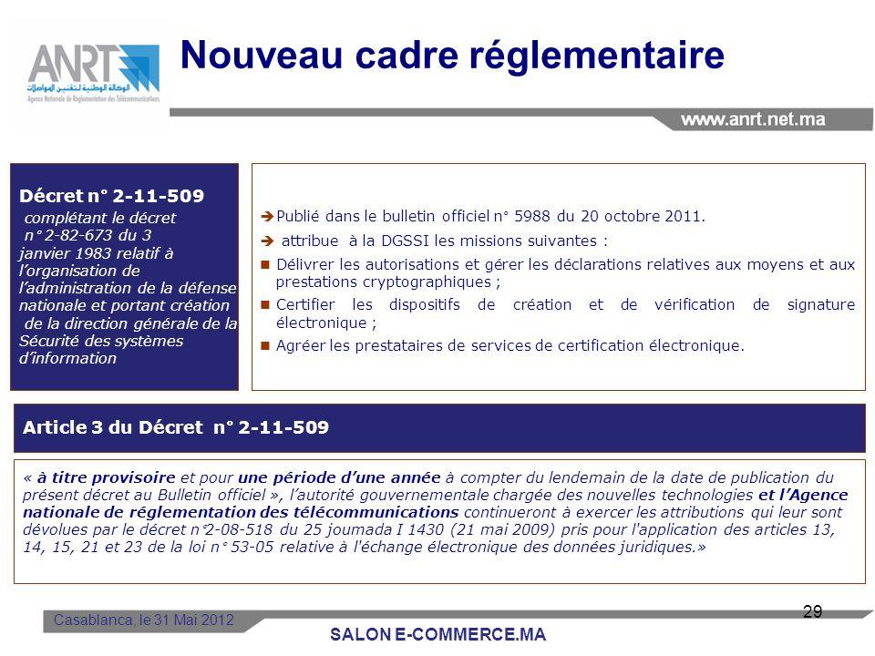 BAM: 1er PSCE Agréé au Maroc BARID AL MAGHRIB Le 06 avril 2011: La Poste Marocaine BARID AL MAGHRIB a obtenu un agrément pour une durée de cinq (05) a