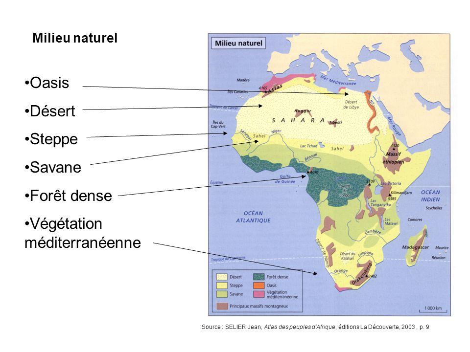 LAfrique à la veille de la 1e guerre mondiale Source : SELIER Jean, Atlas des peuples dAfrique, éditions La Découverte, 2003, p.