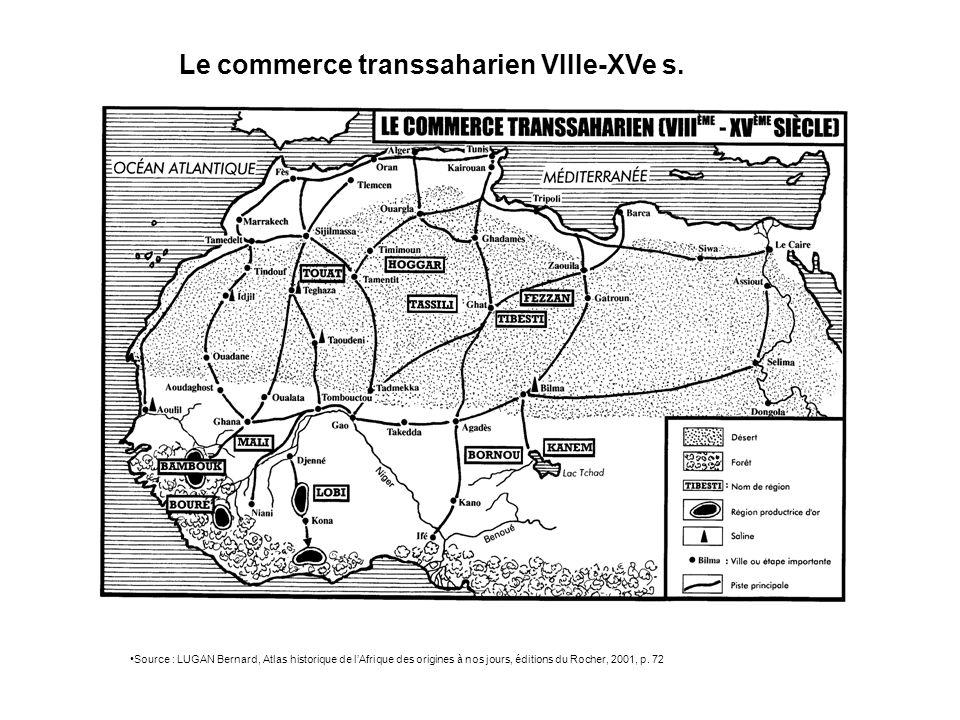 LAfrique aujourdhui (2003) Source : SELIER Jean, Atlas des peuples dAfrique, éditions La Découverte, 2003, p.