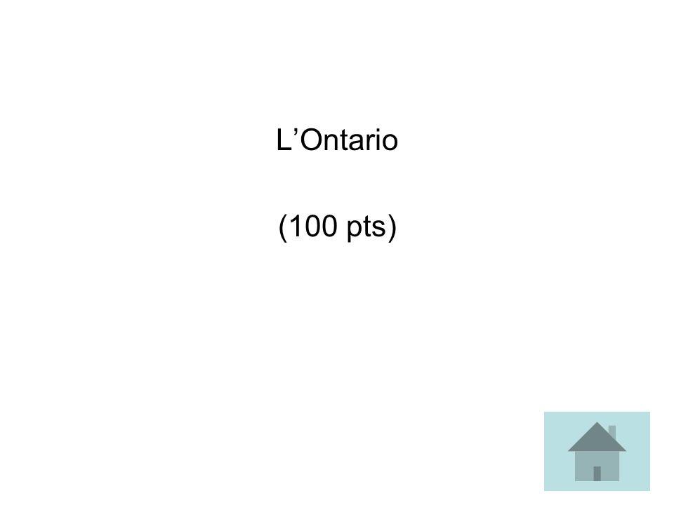 LOntario (100 pts)