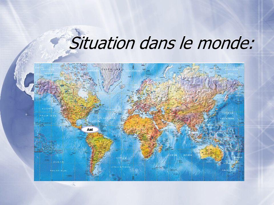 Situation dans le monde:
