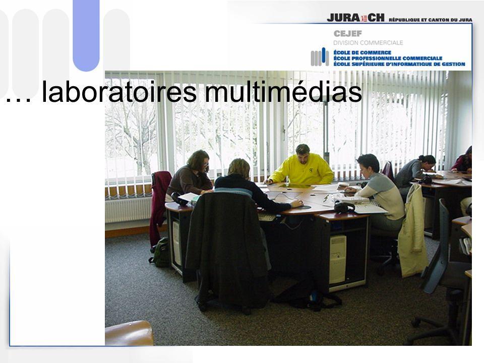 … laboratoires multimédias
