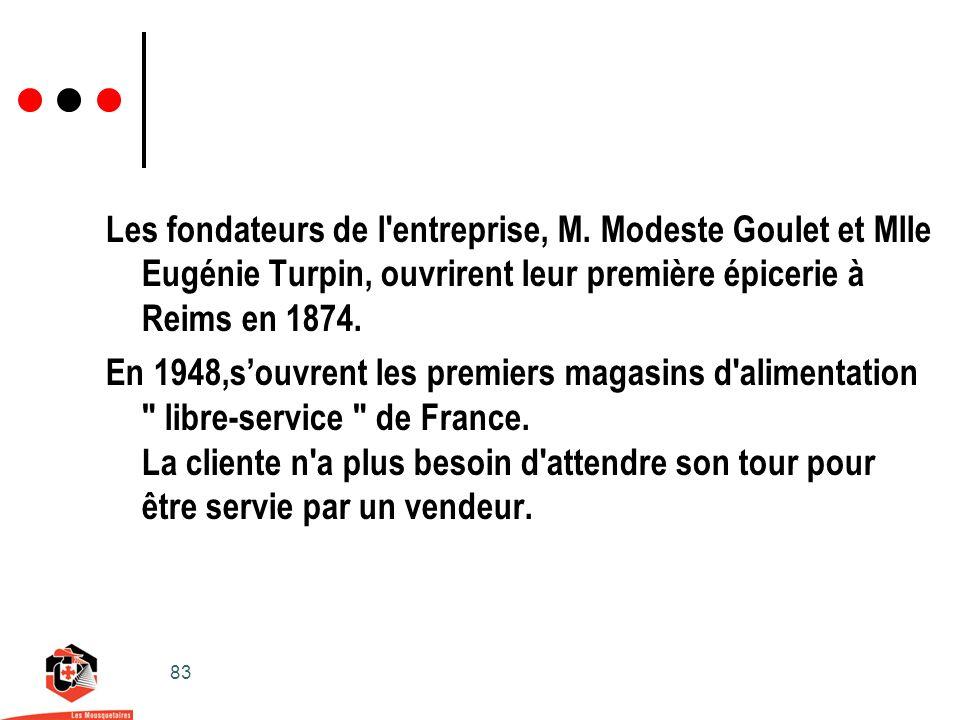 83 Les fondateurs de l entreprise, M.