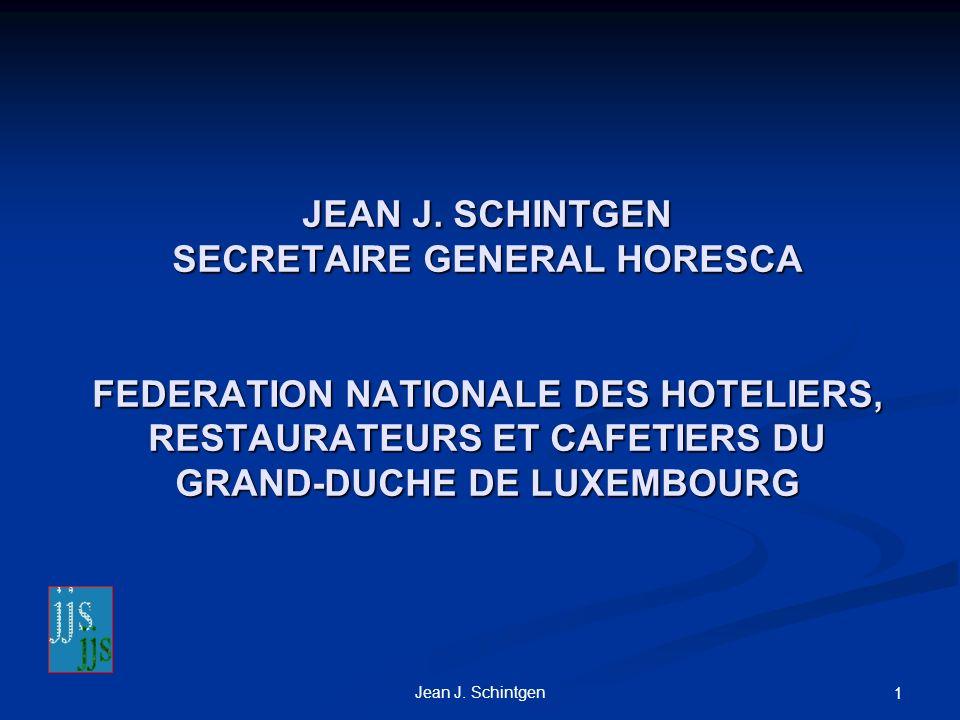 Jean J.Schintgen 1 JEAN J.