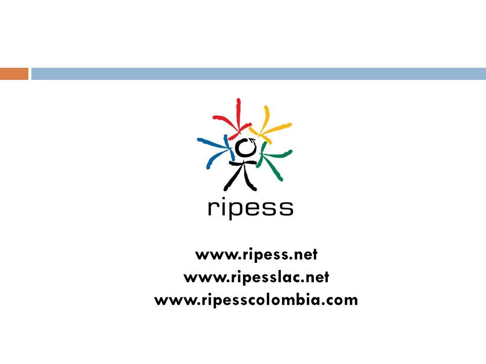 www.ripess.net www.ripesslac.net www.ripesscolombia.com