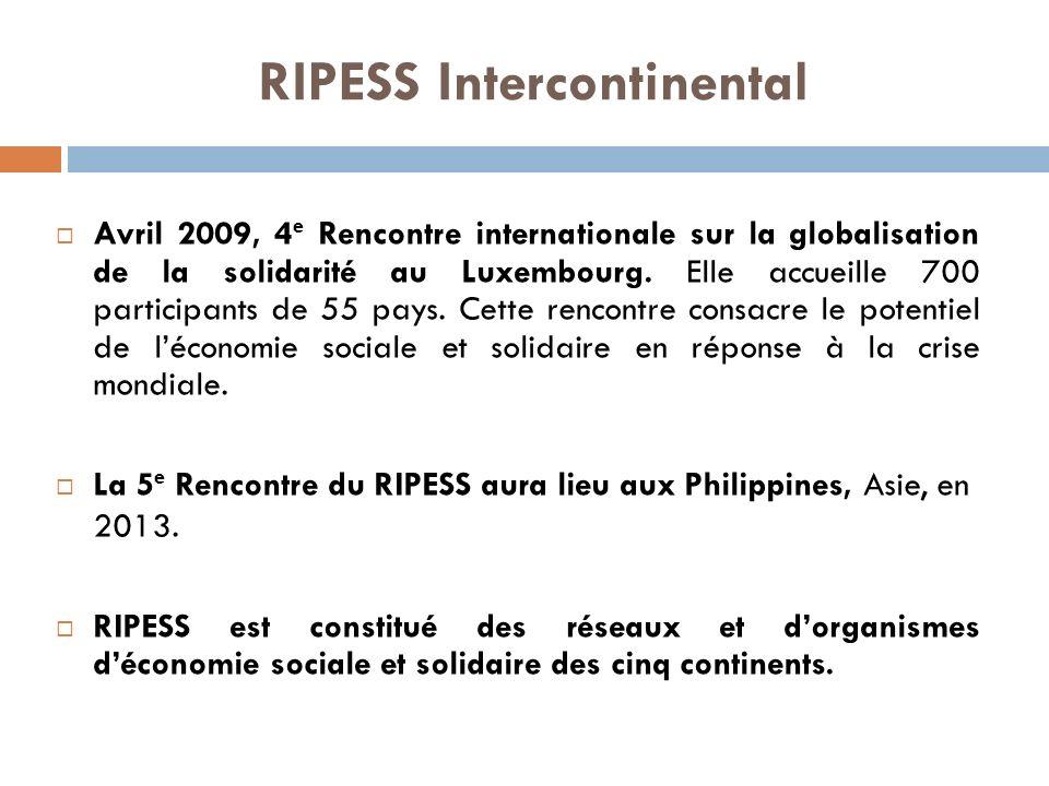 RIPESS - Amérique latine et Caraïbes Octobre 2004, Lima – Pérou : création de la Table de coordination latino-américaine de commerce équitable (TCLACE).