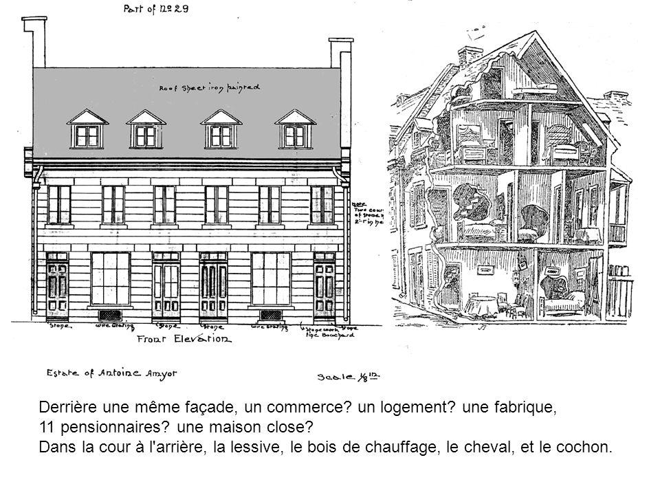 Statut professionnel des pères de famille dans les trois communautés Canadiens françaisCatholiques anglophonesAnglo-protestants En bas de l échelle (journaliers) Élevé (négociants)