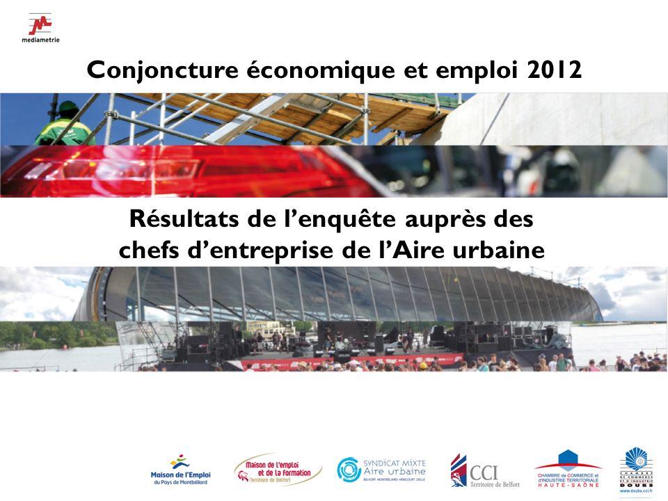 2 L Observatoire de l emploi de l Aire urbaine (des MDEs) et ses partenaires locaux, le SMAU et les CCI, se sont associés dans le suivi de la conjoncture économique locale.