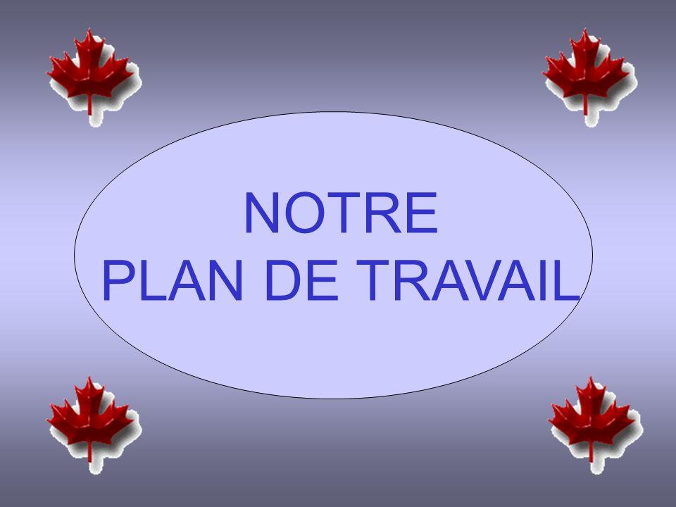 NOTRE PLAN DE TRAVAIL