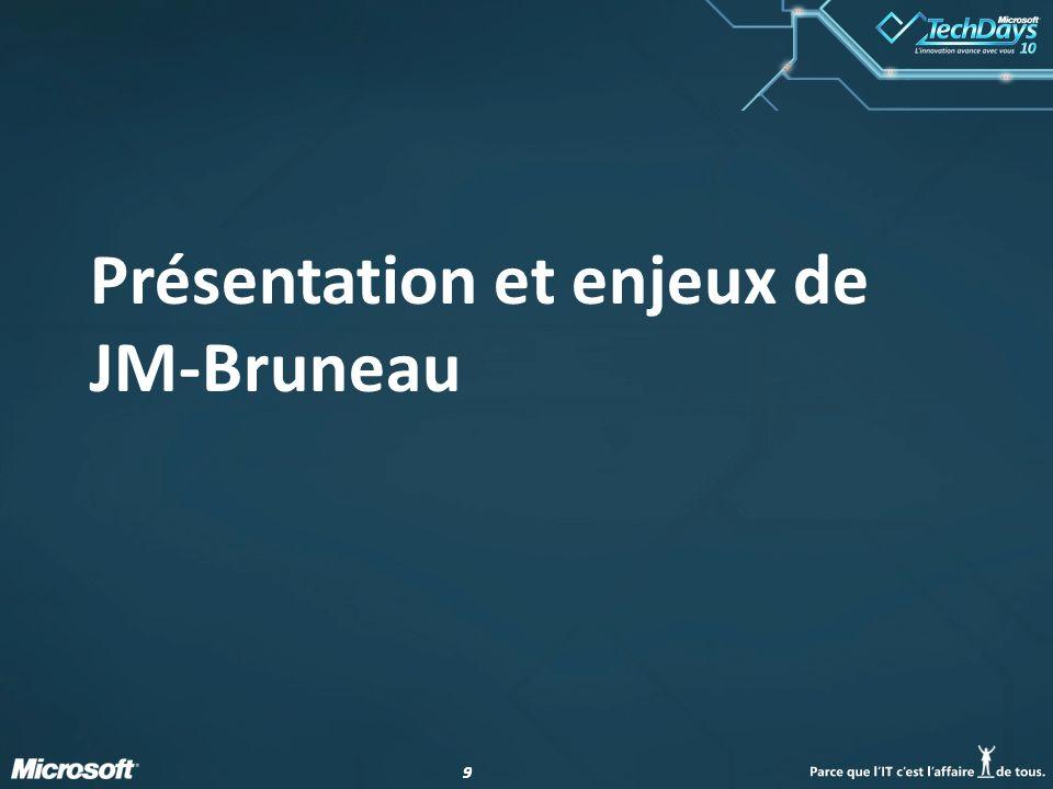 99 Présentation et enjeux de JM-Bruneau