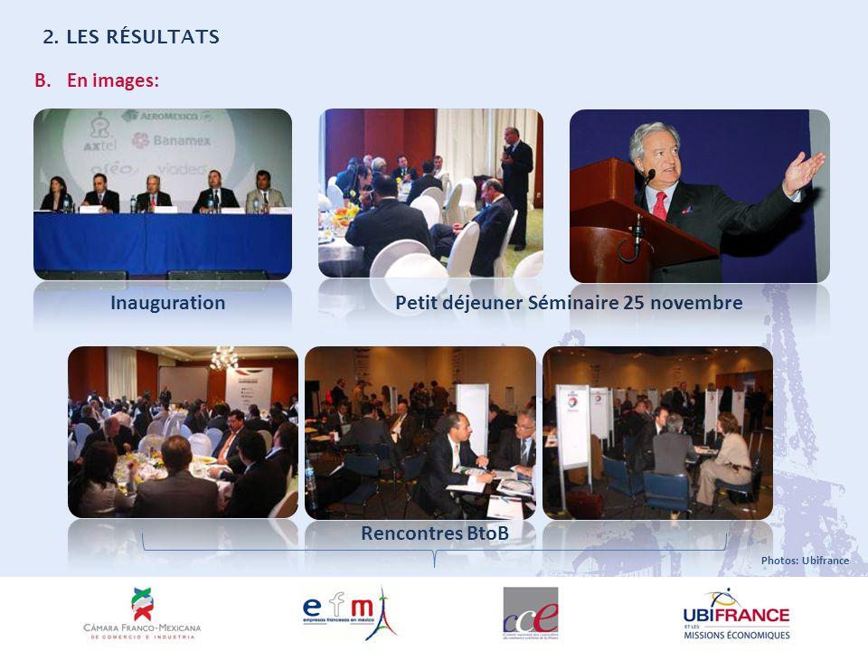 B.En images: InaugurationPetit déjeuner Séminaire 25 novembre 2.