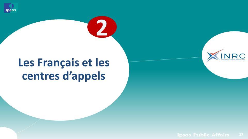 Les Français et les centres dappels 2 17
