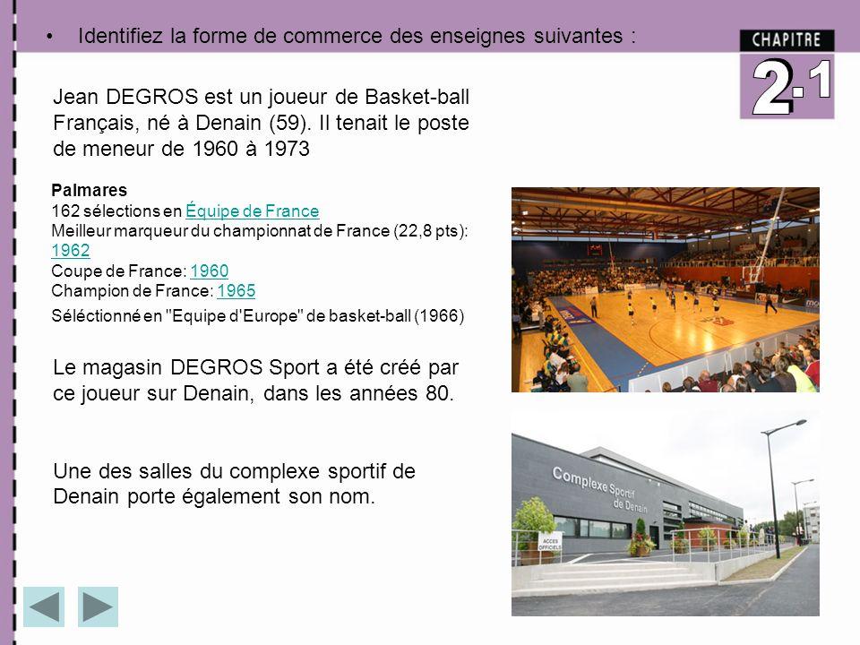 Jean DEGROS est un joueur de Basket-ball Français, né à Denain (59). Il tenait le poste de meneur de 1960 à 1973 Palmares 162 sélections en Équipe de