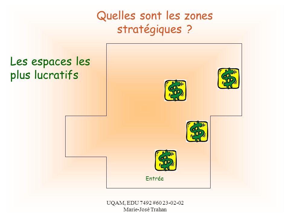 UQAM, EDU 7492 #60 23-02-02 Marie-José Trahan Quelles sont les zones stratégiques .
